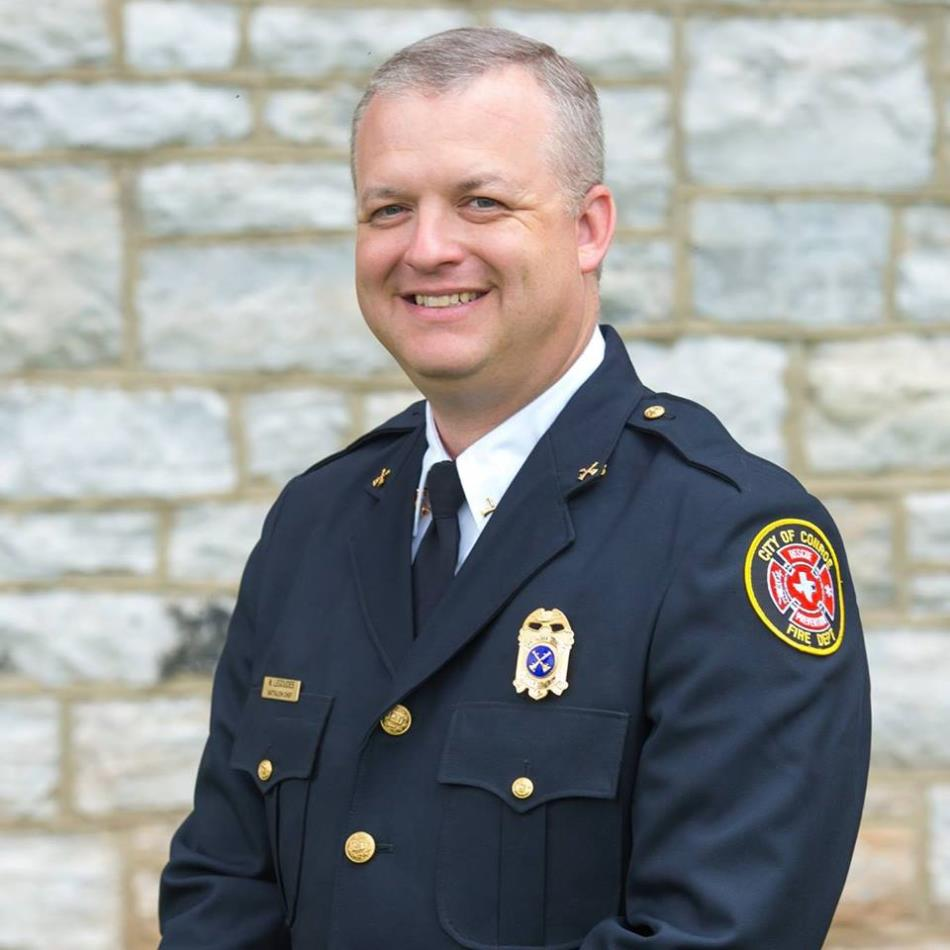 Assistant Fire Chief Mike Legoudes, Jr.