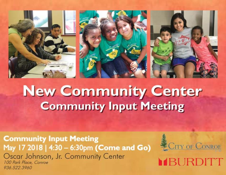 Community Center Input Meeting