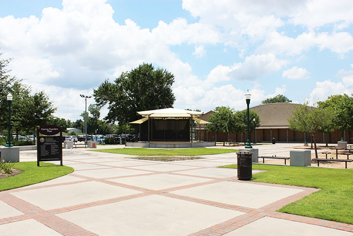 Conroe Founder's Plaza