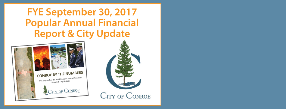FYE September 30, 2017 Popular Annual Financial Report & City Update